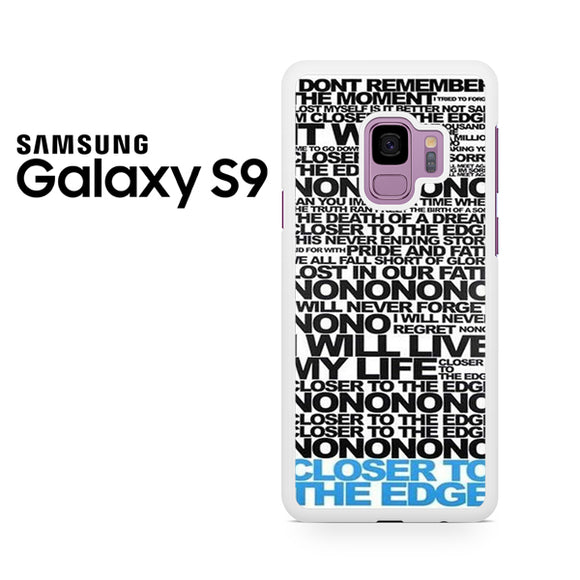 30 Seconds To Mars Song Lyrics - Samsung Galaxy S9 Case - Tatumcase