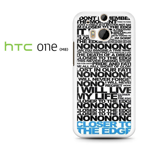 30 Seconds To Mars Song Lyrics - HTC M8 Case - Tatumcase