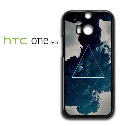 30 Seconds To Mars Triangle - HTC M8 Case - Tatumcase