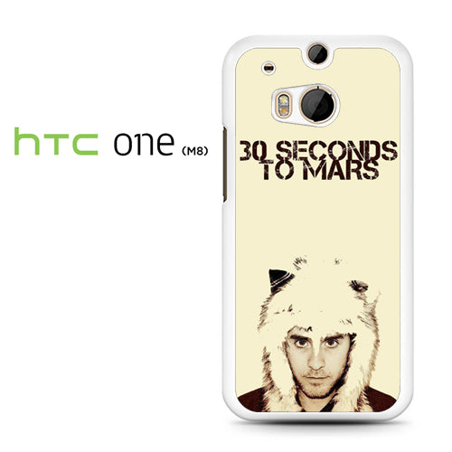 30 Seconds to Mars Jared Letto - HTC M8 Case - Tatumcase