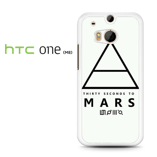 30 Seconds to Mars Logo 1 - HTC M8 Case - Tatumcase