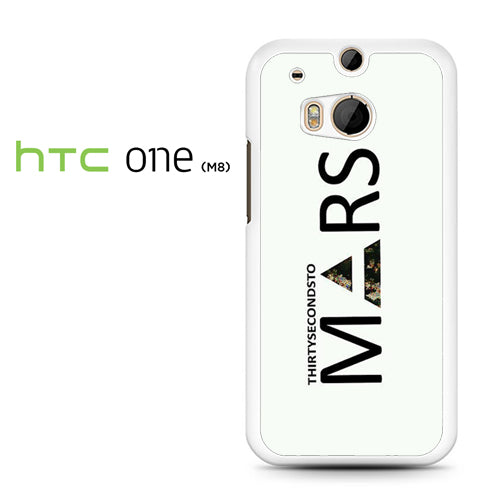 30 Seconds to Mars Logo 2 - HTC M8 Case - Tatumcase