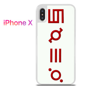 30 Seconds to Mars Logo 3 - iPhone X Case - Tatumcase