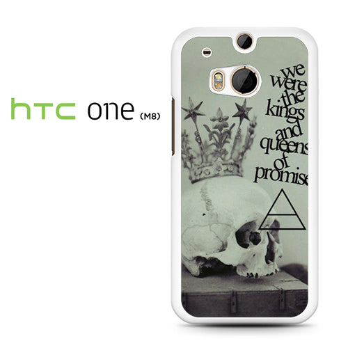 30 Seconds to Mars Lyrics 2 - HTC M8 Case - Tatumcase