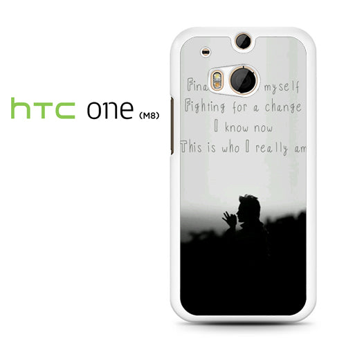 30 Seconds to Mars Lyrics 3 - HTC M8 Case - Tatumcase