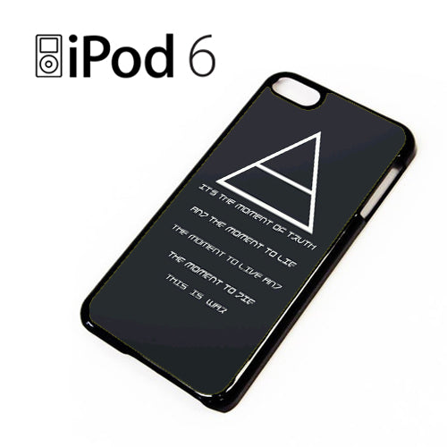 30 Seconds to Mars QuotesYD - iPod 6 Case - Tatumcase
