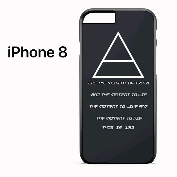 30 Seconds to Mars QuotesYD - iPhone 8 Case - Tatumcase