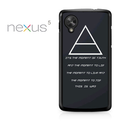 30 Seconds to Mars QuotesYD - Nexus 5 Case - Tatumcase