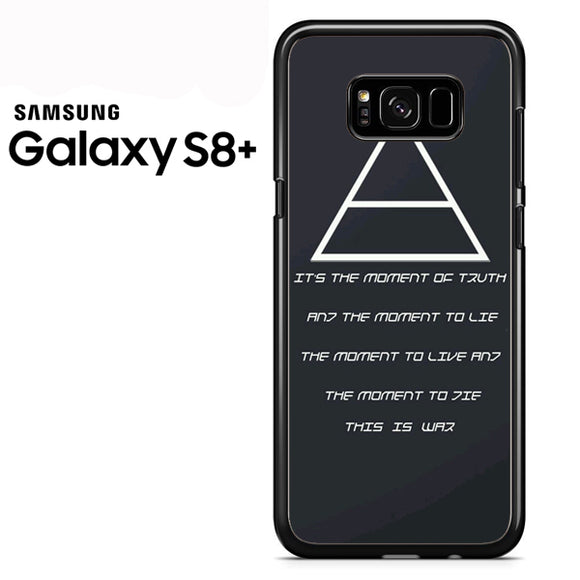 30 Seconds to Mars QuotesYD - Samsung Galaxy S8 Plus Case - Tatumcase