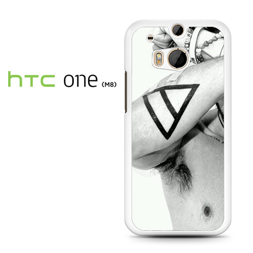 30 Seconds to Mars Tatto - HTC M8 Case - Tatumcase