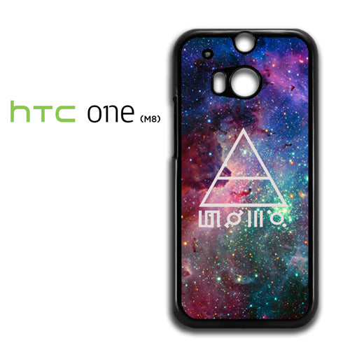 30 seconds to mars galaxy - HTC M8 Case - Tatumcase