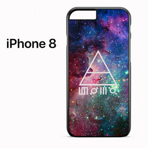 30 seconds to mars galaxy - iPhone 8 Case - Tatumcase