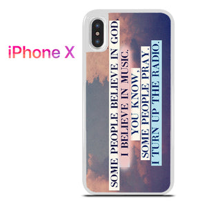 30 seconds to mars quotes - iPhone X Case - Tatumcase