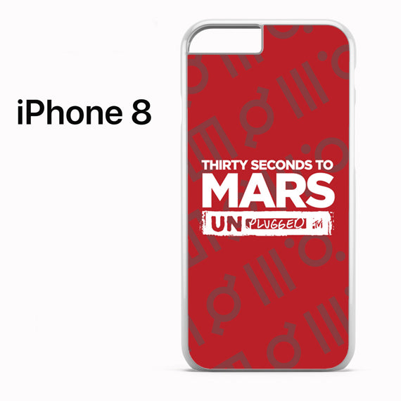 30 seconds to mars unplugged - iPhone 8 Case - Tatumcase
