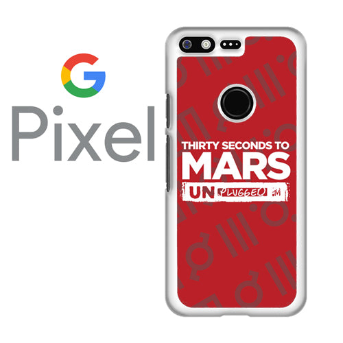 30 seconds to mars unplugged- Google Pixel Case - Tatumcase