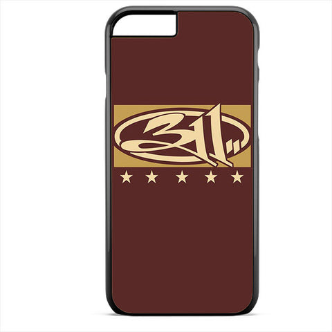 311 Logo Art Apple Phonecase For Iphone 4/4S Iphone 5/5S Iphone 5C Iphone 6 Iphone 6S Iphone 6 Plus Iphone 6S Plus