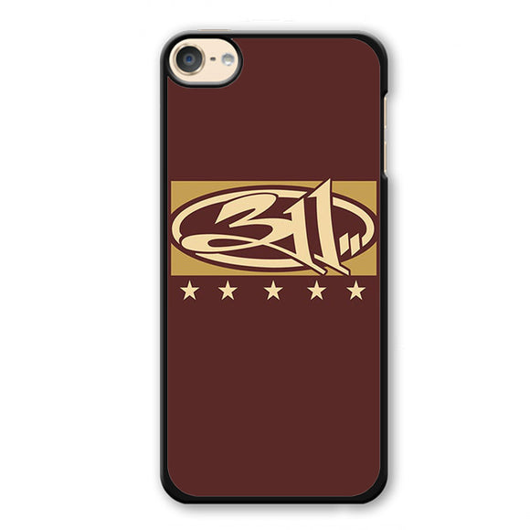 311 Logo Art Apple Phonecase For Ipod Touch 4 Ipod Touch 5 Ipod Touch 6 - tatumcase