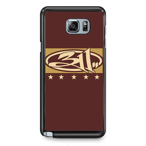 311 Logo Art Samsung Phonecase For Samsung Galaxy Note 2 Note 3 Note 4 Note 5 Note Edge