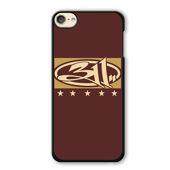 311 Logo Art TATUM-58 Apple Phonecase Cover For Ipod Touch 4, Ipod Touch 5, Ipod Touch 6 - tatumcase