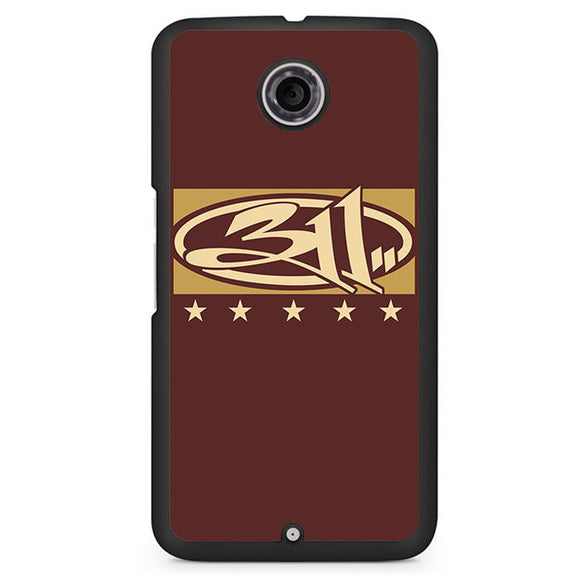 311 Logo Art Google Phonecase For Google Nexus 4 Nexus 5 Nexus 6 - tatumcase