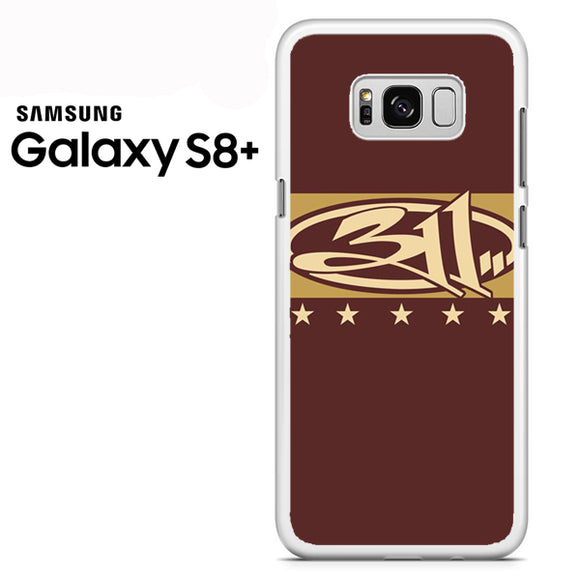 311 Logo Art - Samsung Galaxy S8 Plus Case - Tatumcase