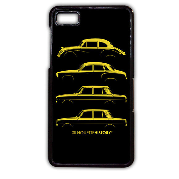 311 Silhouette Hystory TATUM-61 Blackberry Phonecase Cover For Blackberry Q10, Blackberry Z10 - tatumcase