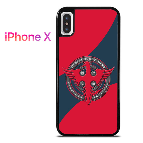 3 seconds to mars logo - iPhone X Case - Tatumcase