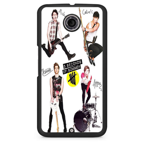 5 Seconds Of Summer 5sos Ashton Irwin Calum Hood Favim TATUM-70 Google Phonecase Cover For Nexus 4, Nexus 5, Nexus 6 - tatumcase
