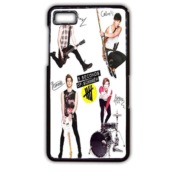 5 Seconds Of Summer 5sos Ashton Irwin Calum Hood Favim TATUM-70 Blackberry Phonecase Cover For Blackberry Q10, Blackberry Z10 - tatumcase