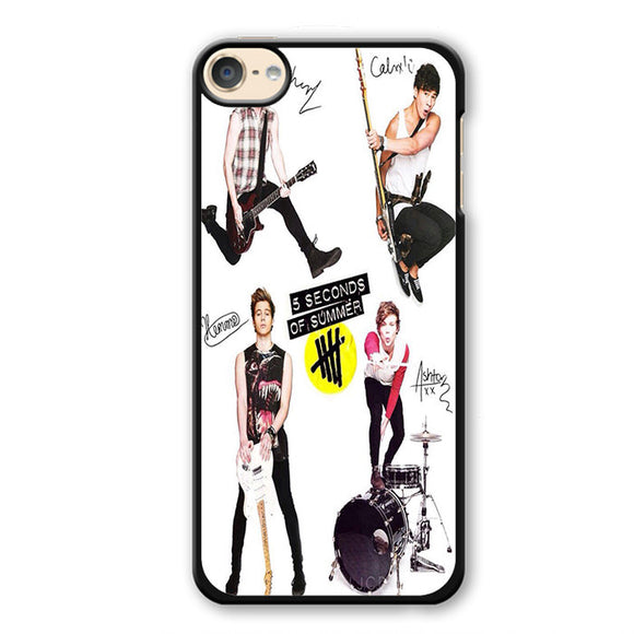 5 Seconds Of Summer 5sos Ashton Irwin Calum Hood Favim TATUM-70 Apple Phonecase Cover For Ipod Touch 4, Ipod Touch 5, Ipod Touch 6 - tatumcase