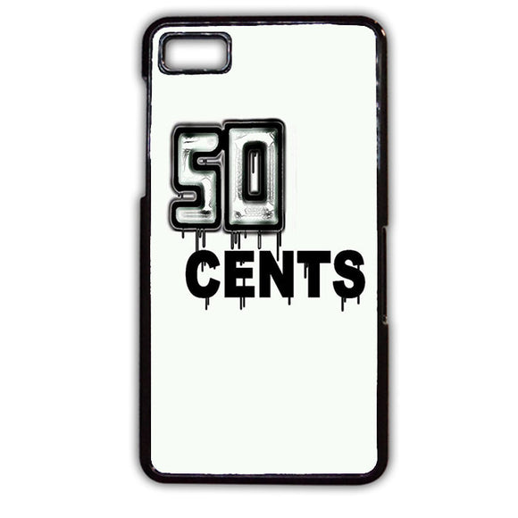 50 Cent Cool TATUM-132 Blackberry Phonecase Cover For Blackberry Q10, Blackberry Z10 - tatumcase