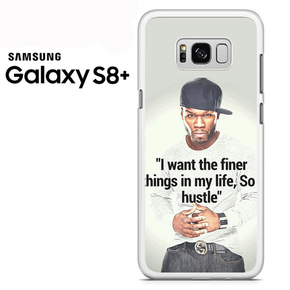 50 Cent Quotes - Samsung Galaxy S8 Plus Case - Tatumcase