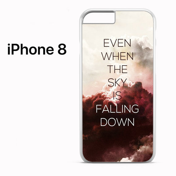 5 SOS Lyrics - Z - iPhone 8 Case - Tatumcase