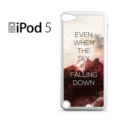 5 SOS Lyrics - Z - iPod 5 Case - Tatumcase