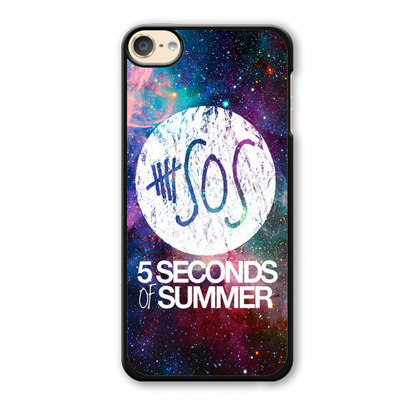 5 Second of Summer Logo Galaxy Nebula TATUM-66 Apple Phonecase Cover For Ipod Touch 4, Ipod Touch 5, Ipod Touch 6 - tatumcase