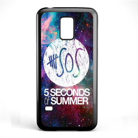 5 Second of Summer Logo Galaxy Nebula TATUM-66 Samsung Phonecase Cover Samsung Galaxy S3 Mini Galaxy S4 Mini Galaxy S5 Mini