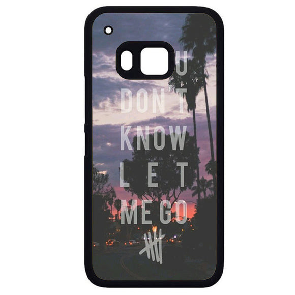 5 Seconds Of SummerPhonecase Cover Case For HTC One M7 HTC One M8 HTC One M9 HTC ONe X - tatumcase