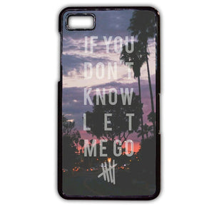 5 Seconds Of Summer TATUM-69 Blackberry Phonecase Cover For Blackberry Q10, Blackberry Z10 - tatumcase