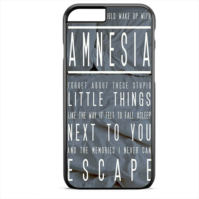 5 Seconds Of Summer Amnesia TATUM-74 Apple Phonecase Cover For Iphone 4 / 4S, Iphone 5 / 5S, Phone 5C, Iphone 6, Iphone 6 Plus