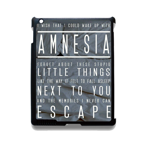 5 Seconds Of Summer Amnesia TATUM-74 Apple Phonecase Cover For Ipad 2/3/4, Ipad Mini 2/3/4, Ipad Air, Ipad Air 2 - tatumcase