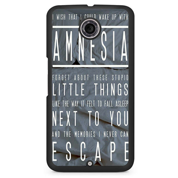 5 Seconds Of Summer Amnesia TATUM-74 Google Phonecase Cover For Nexus 4, Nexus 5, Nexus 6 - tatumcase