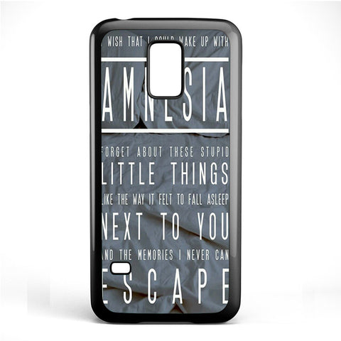 5 Seconds Of Summer Amnesia TATUM-74 Samsung Phonecase Cover Samsung Galaxy S3 Mini Galaxy S4 Mini Galaxy S5 Mini