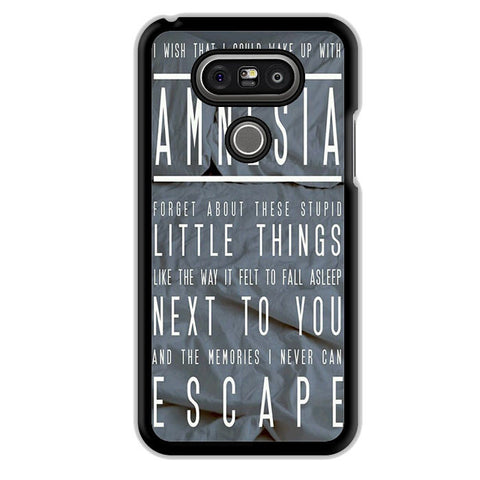 5 Seconds Of Summer Amnesia TATUM-74 LG Phonecase Cover For LG G3, LG G4, LG G5