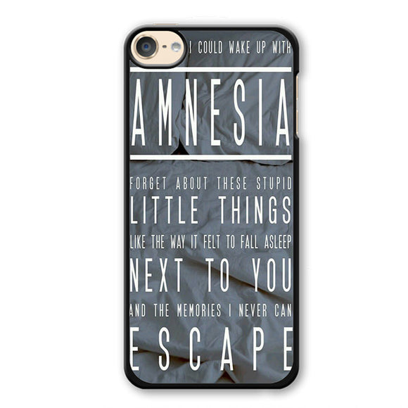 5 Seconds Of Summer Amnesia TATUM-74 Apple Phonecase Cover For Ipod Touch 4, Ipod Touch 5, Ipod Touch 6 - tatumcase