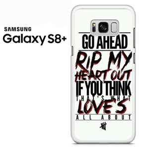 5 Seconds of Summer Lyrics - Samsung Galaxy S8 Plus Case - Tatumcase