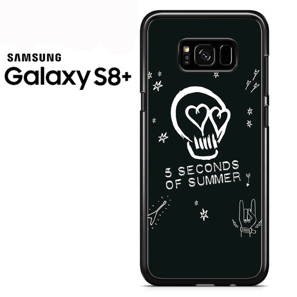 5 Seconds of Summer Z - Samsung Galaxy S8 Plus Case - Tatumcase