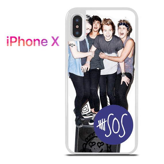 5 seconds of summer band - iPhone X Case - Tatumcase