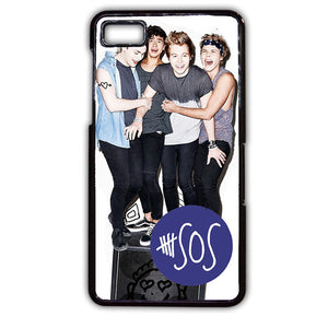 5 Seconds Of Summer Band TATUM-78 Blackberry Phonecase Cover For Blackberry Q10, Blackberry Z10 - tatumcase