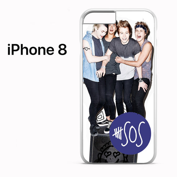 5 seconds of summer band - iPhone 8 Case - Tatumcase