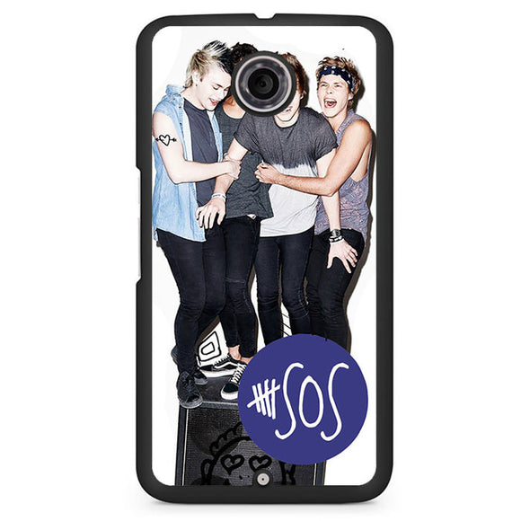 5 Seconds Of Summer Band TATUM-78 Google Phonecase Cover For Nexus 4, Nexus 5, Nexus 6 - tatumcase